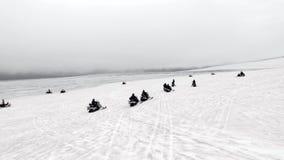 Snövessla turnerar i Island arkivfilmer