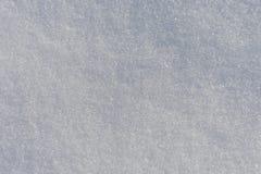 Snöyttersida med kristaller av is Arkivfoton