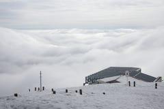 从Sněžka的看法 库存照片