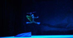 """Snabb övergående luddig bild-Peking opera som """"Taking Tiger Montain By Strategyâ € Fotografering för Bildbyråer"""