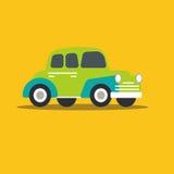 Snabb bil för vektorillustration Arkivbilder