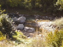 Snabb flod Royaltyfri Fotografi