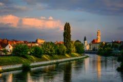 Snabb flod Oradea Royaltyfria Bilder