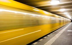 snabb gångtunnel Royaltyfria Bilder