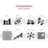 Snabb handbokillustration för sammansättning Stock Illustrationer