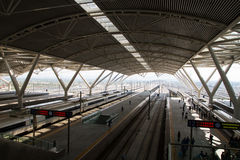 Snabb Kina järnväg Fotografering för Bildbyråer