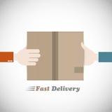 Snabb leveranskurir Arkivfoto