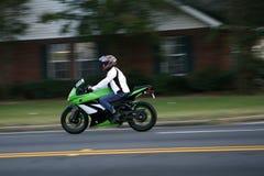 snabb motorcykel Royaltyfri Foto