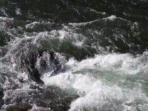 Snabb vattenånga som flyttar sig över en vagga lager videofilmer