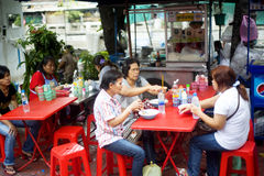 snabbmat thailand Arkivbild