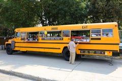 Snabbmatbuss Fotografering för Bildbyråer