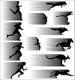 snabbt royaltyfri illustrationer
