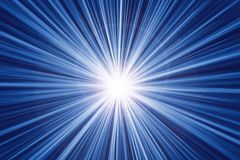Snabbt abstrakt begrepp för ljus effekt för zoomrörelsehastighet stock illustrationer