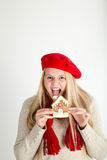 Snack attack Stock Images