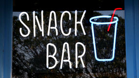 Snack Bar Stock Photo