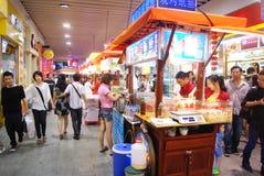 Snack-bar de la Chine Photographie stock