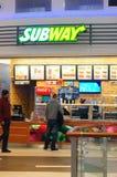 Snack bar do metro fotografia de stock