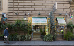 Snack bar em Roma imagens de stock royalty free