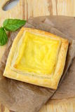 Snack cakes puff pastry Royalty Free Stock Photos
