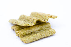 Snack chips. On white background Stock Photos