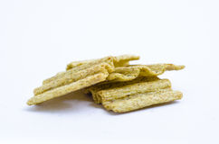 Snack chips. On white background Stock Images