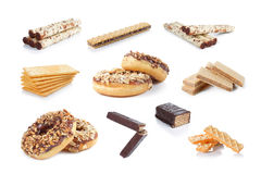 Snack collection Stock Photography