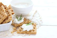 Snack crackers   Stock Images