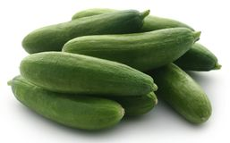 Snack cucumber Royalty Free Stock Photos