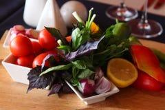 Snack des strengen Vegetariers Lizenzfreies Stockfoto