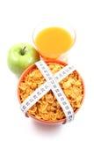 Snack on diet Stock Photo