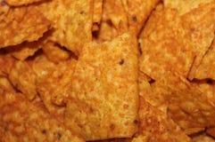 Snack Food Macro. Doritos Corn Chips, - Snack food macro Stock Image