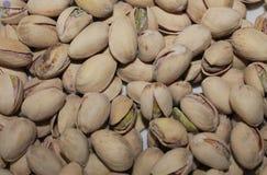 Snack Food Macro. Pistachios Nuts - Snack food macro Royalty Free Stock Photos