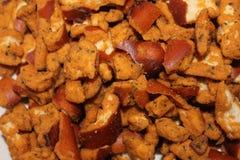 Snack Food Macro. Snyders Pretzel Peices - Snack food macro Stock Photography