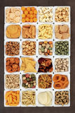 Snack-Food-Probenehmer Lizenzfreies Stockbild