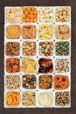 Snack Food Sampler Royalty Free Stock Image