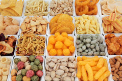 Snack Food Selection Stock Image