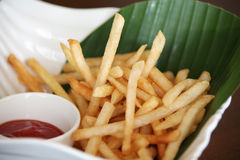 Snack french fries Royalty Free Stock Image