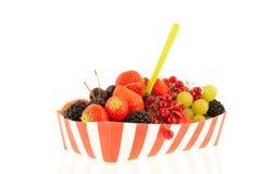 Snack fresh fruit Stock Photo