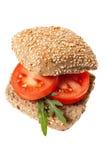 Snack mit rotem Pfeffer Lizenzfreies Stockfoto