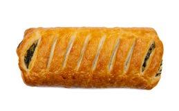 Snack mit Spinat Stockfotos