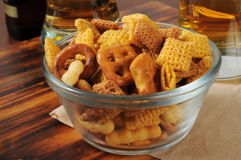 Snack mix on a bar Royalty Free Stock Photo