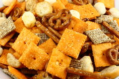 Snack Mix Close Up Royalty Free Stock Photography