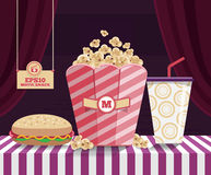Snack Movie Stock Images