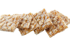 Snack on nuts Stock Photography