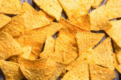 Snack for party chips nachos Stock Image