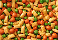 Snack pattern Stock Photo