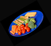 Snack Plate Royalty Free Stock Photos