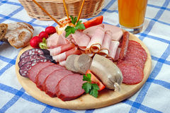 Snack Plate Stock Images