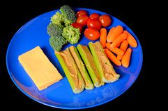 Snack Plate Stock Photography