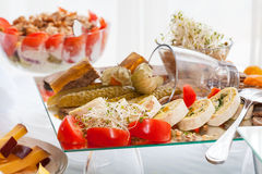 Snack plate Stock Image